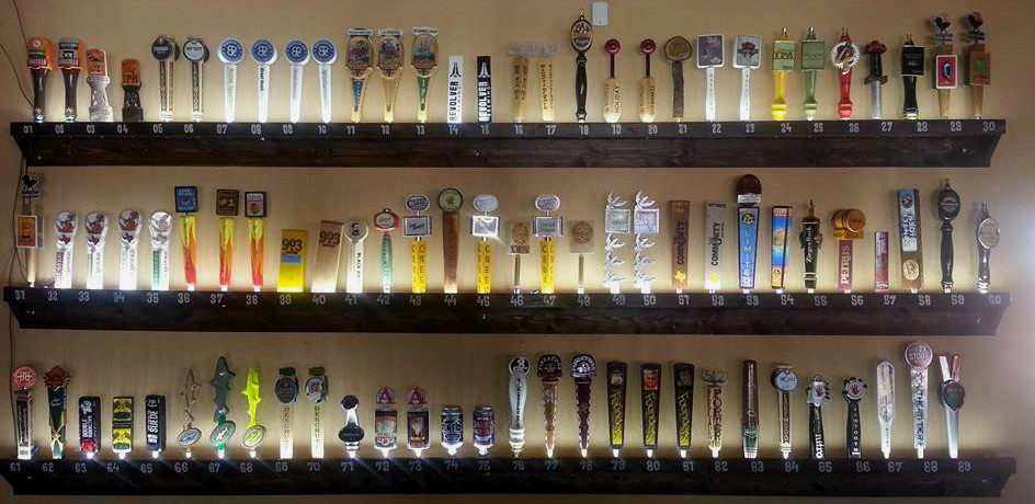 Over 80 Tap Beers